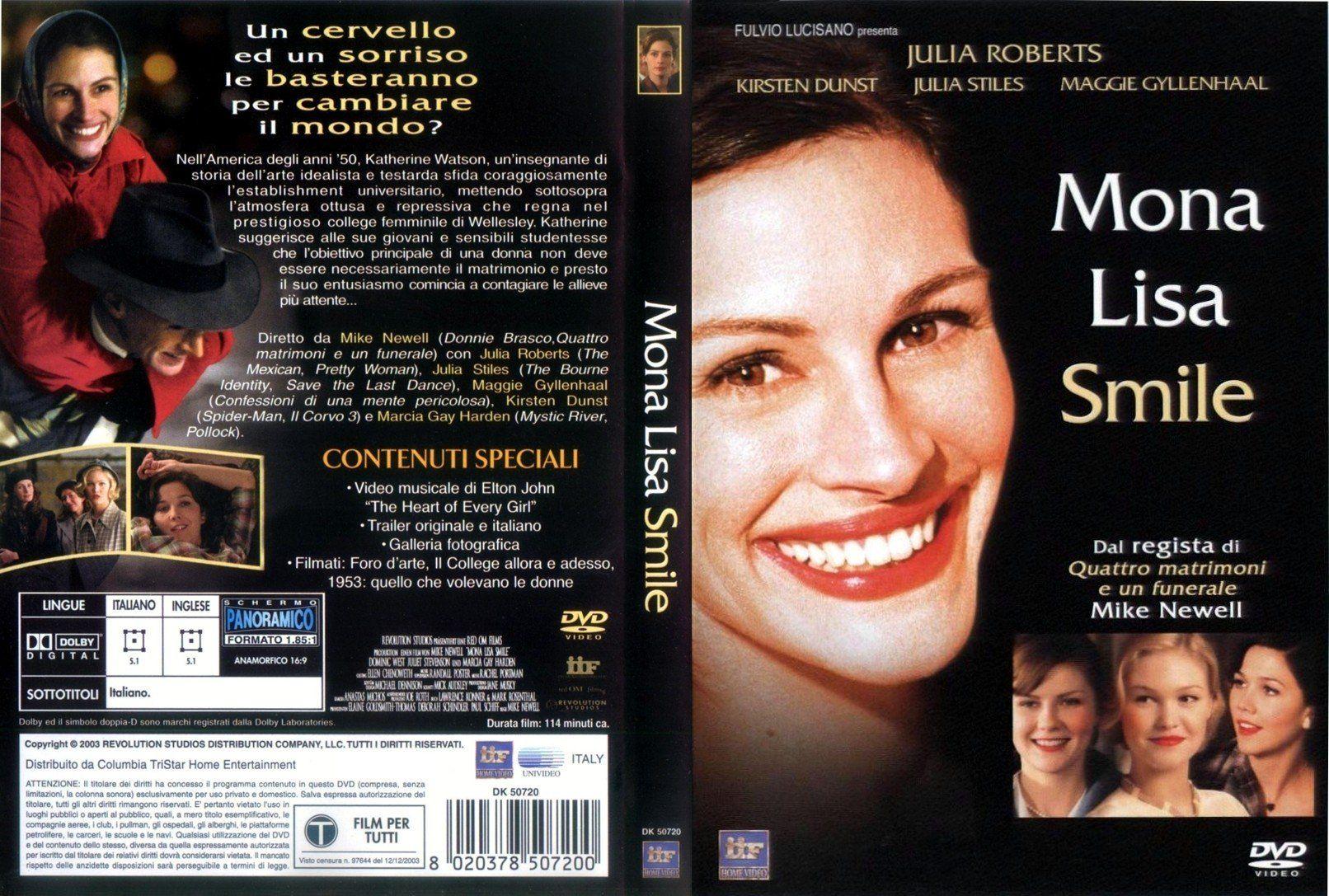 Mona Lisa Smile About Time Movie Mona Lisa Smile Good Movies