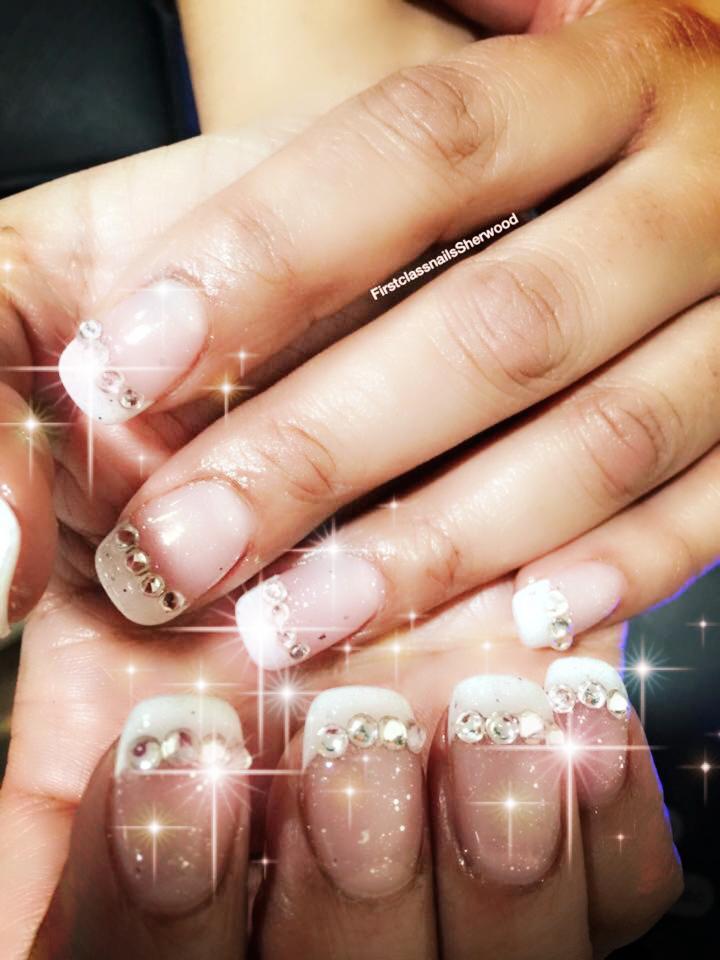 French Manicure ## Diamonds Sparkes | 1stClassNailsNottingham ...
