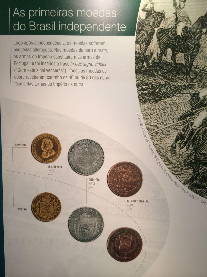 As primeiras moedas do Brasil independente - Museu de Valores BCB