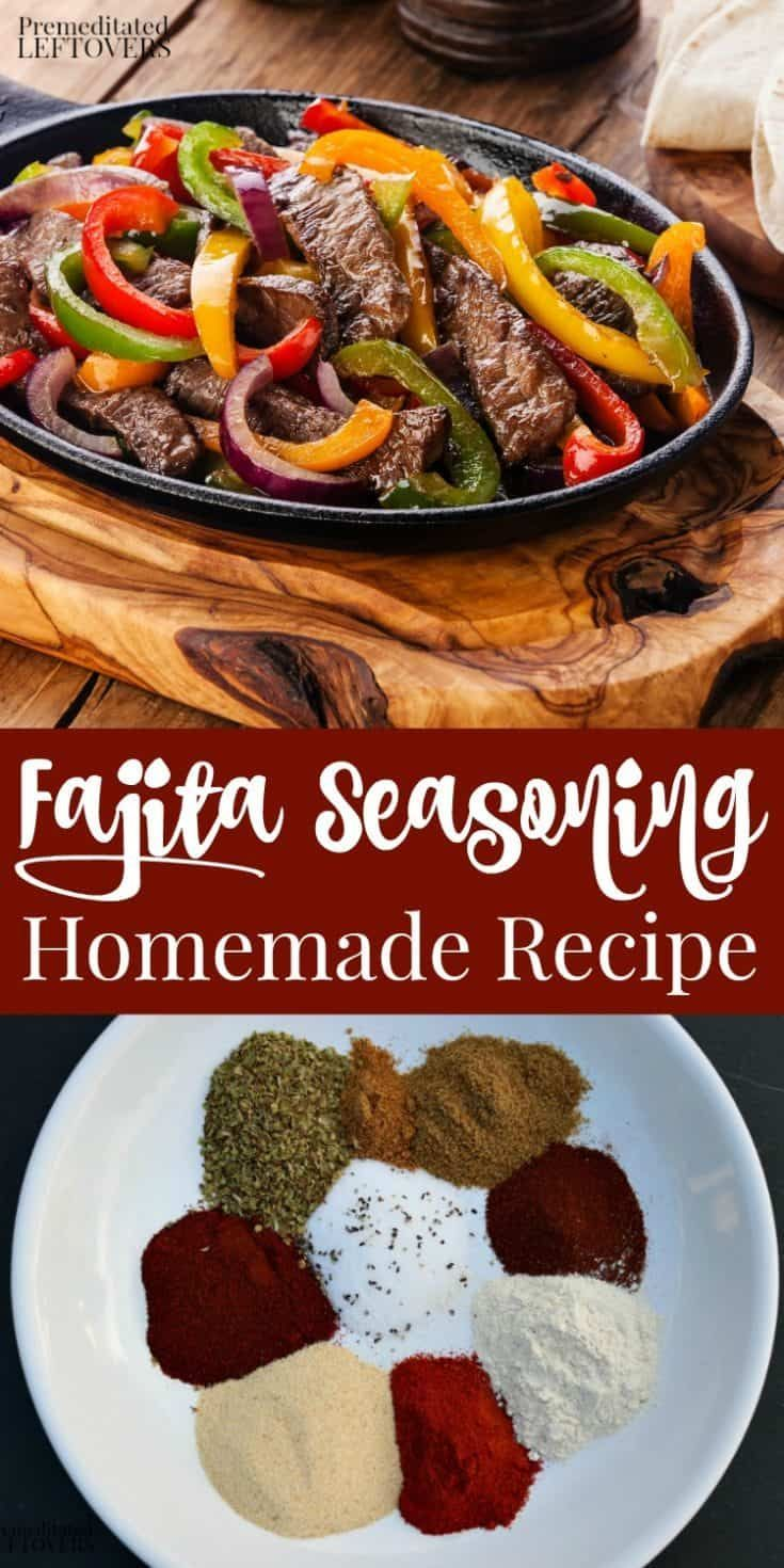 Homemade Fajita Seasoning - Recipe, Tips, and Substitutions
