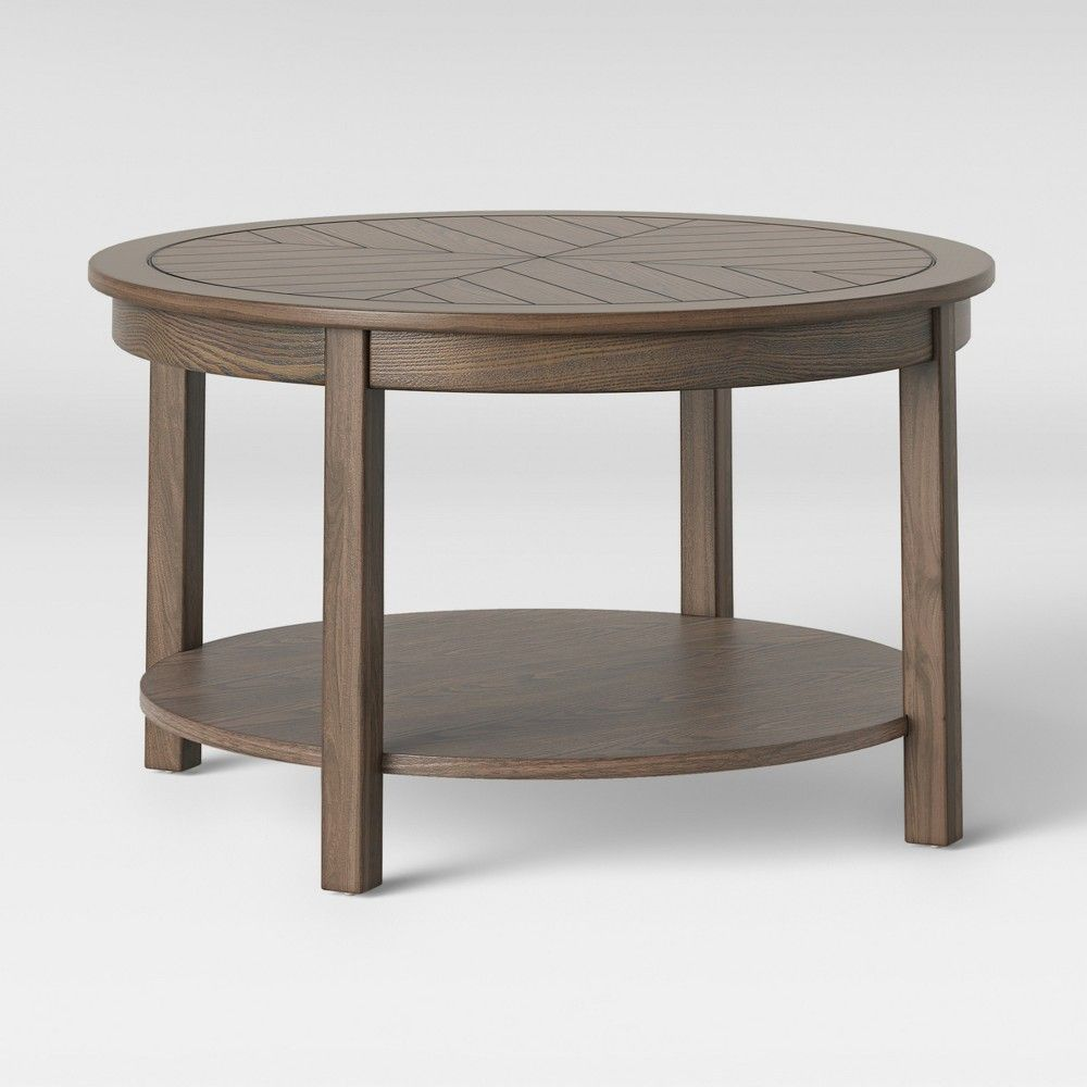 Eastford V Pattern Coffee Table Brown Threshold Target Kid Friendly Coffee Table Coffee Table Trending Coffee Table [ 1000 x 1000 Pixel ]