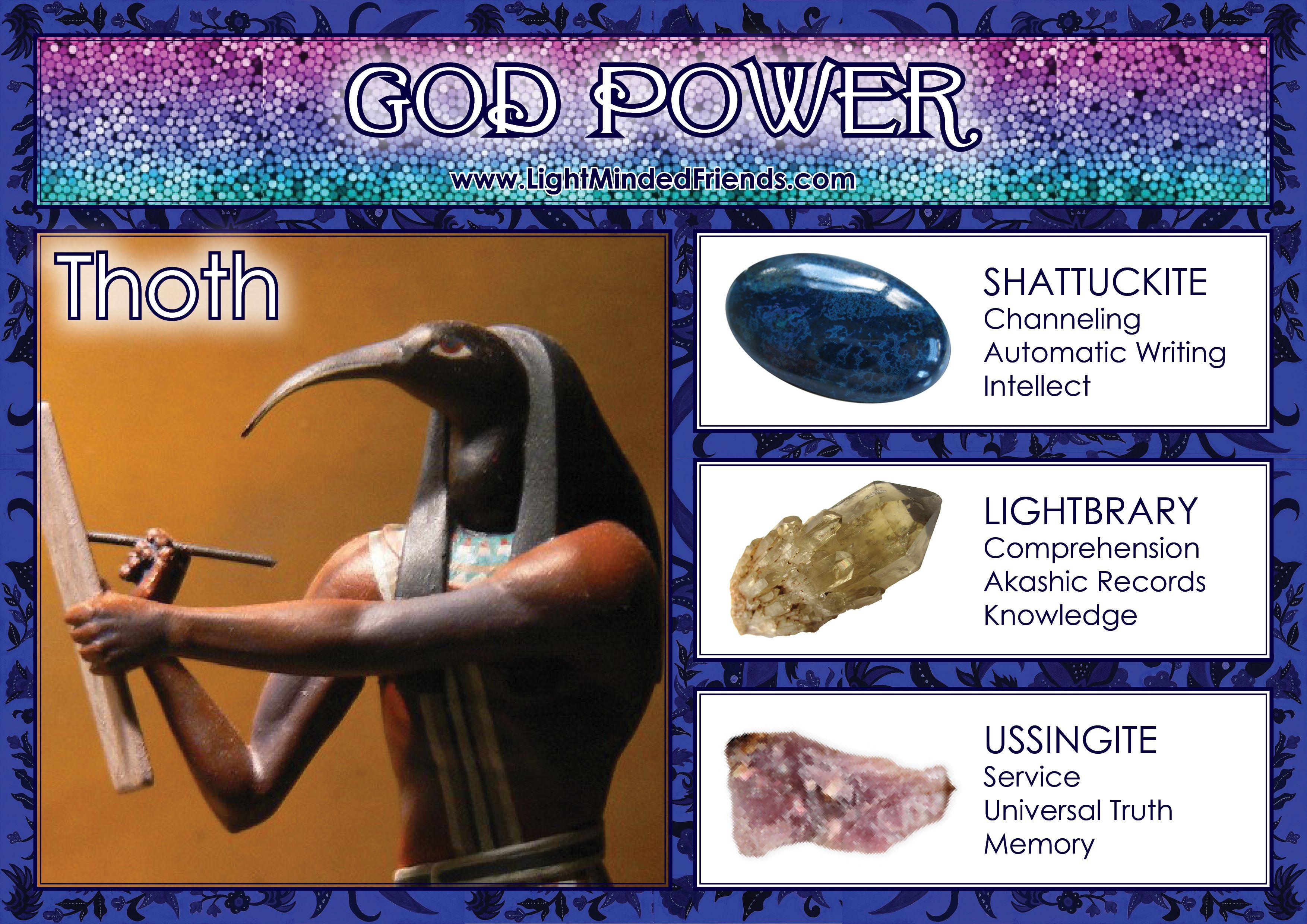 God Power: Thoth!