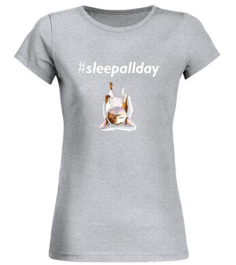 # Sleep All Day Funny French Bulldog Frenchie Dog Tee Shirts Round Neck T  Shirt Woman Basketball Tshirts, Basketball Shirts, Basketball Tshirt Desiu2026