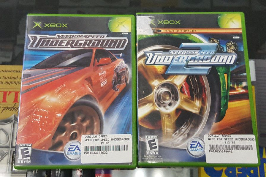 Need For Speed Underground Need For Speed Underground 2