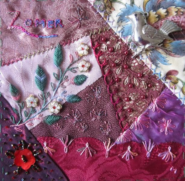 I ❤ crazy quilting . . . Frontpage Summer Dreams.