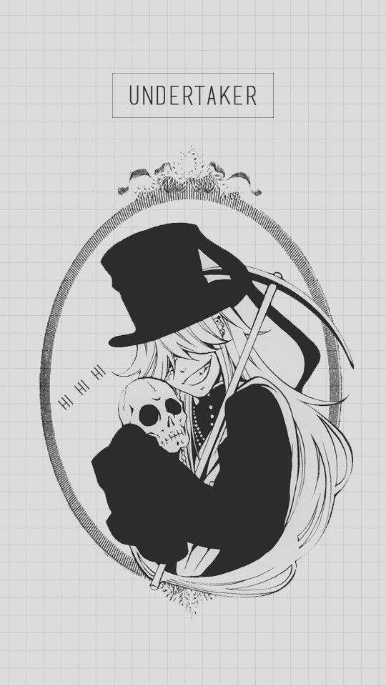 Skull Black Butler And The Undertaker Image On We Heart It