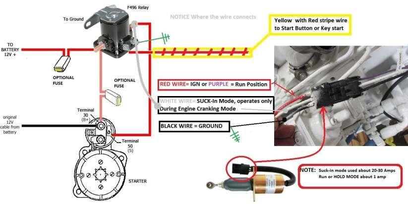 Schematics Engine Wiring Diagram Cummins 1999 24 V Gen 2 And Fuel Shutoff Solenoid Wiring Seaboard Marine Wire Irrigation Pumps Sprinkler Timer