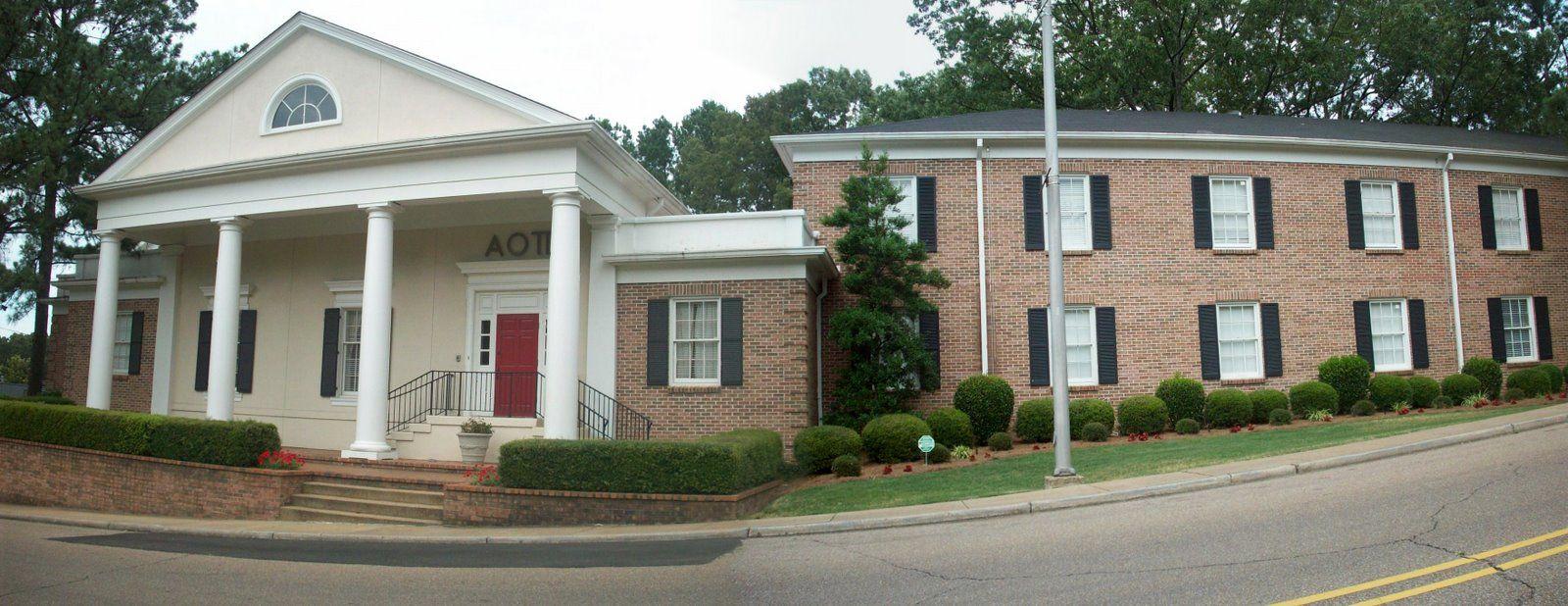 University of Mississippi   AOII Chapter Houses   Pinterest