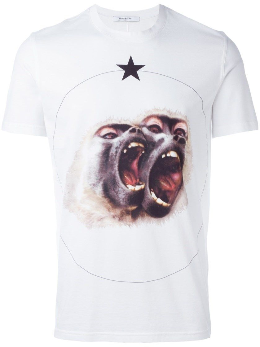 f6e02e179cdb GIVENCHY 'Monkey Brothers' Printed T-Shirt. #givenchy #cloth #t-shirt