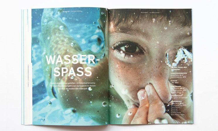 CD für das Hallenbad Ismaning von Zeichen & Wunder