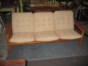 Mid Century Modern Domino Mobler Furniture Denmark Danish Sofa Couch |  EBay. Sensibly Priced At
