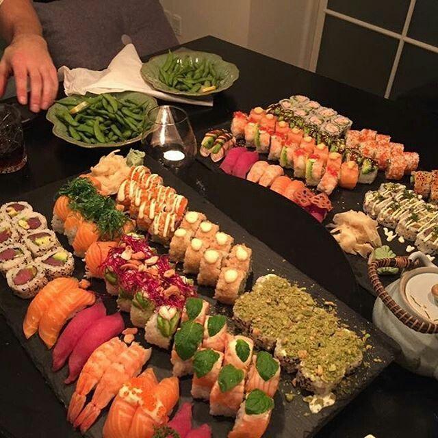 Biancacoetzee01 Sushi Recipes Buffet Food Tv Food