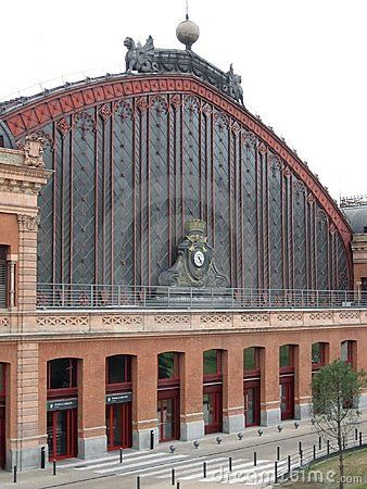 Madrid train station, Spain.