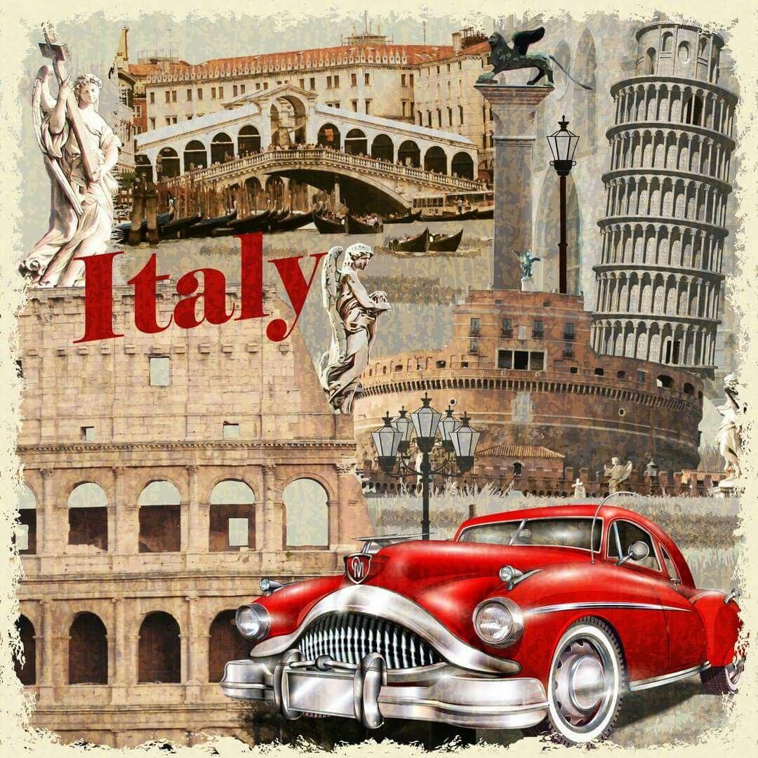 Открытка из италия
