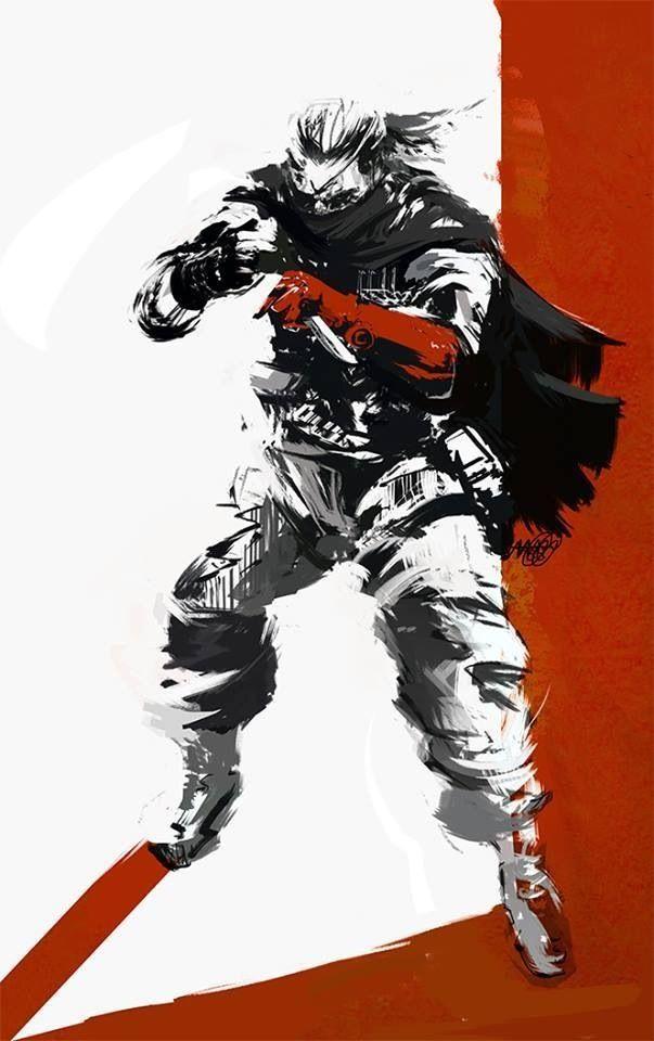 Punished Snake Metal Gear Solid Series Metal Gear Gear Art