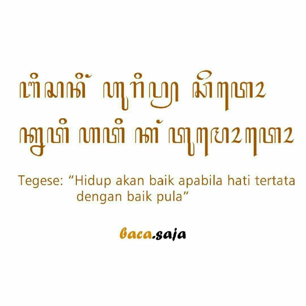 Kata Kata Bijak Aksara Jawa In 2020 With Images