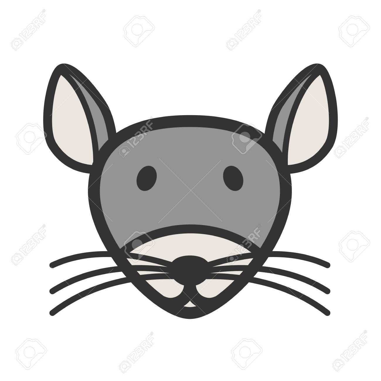 Mouse Face Icon Cartoon Illustration Illustration Ad Icon Face Mouse Illustration Illustration Cartoon Illustration Face Icon Illustration