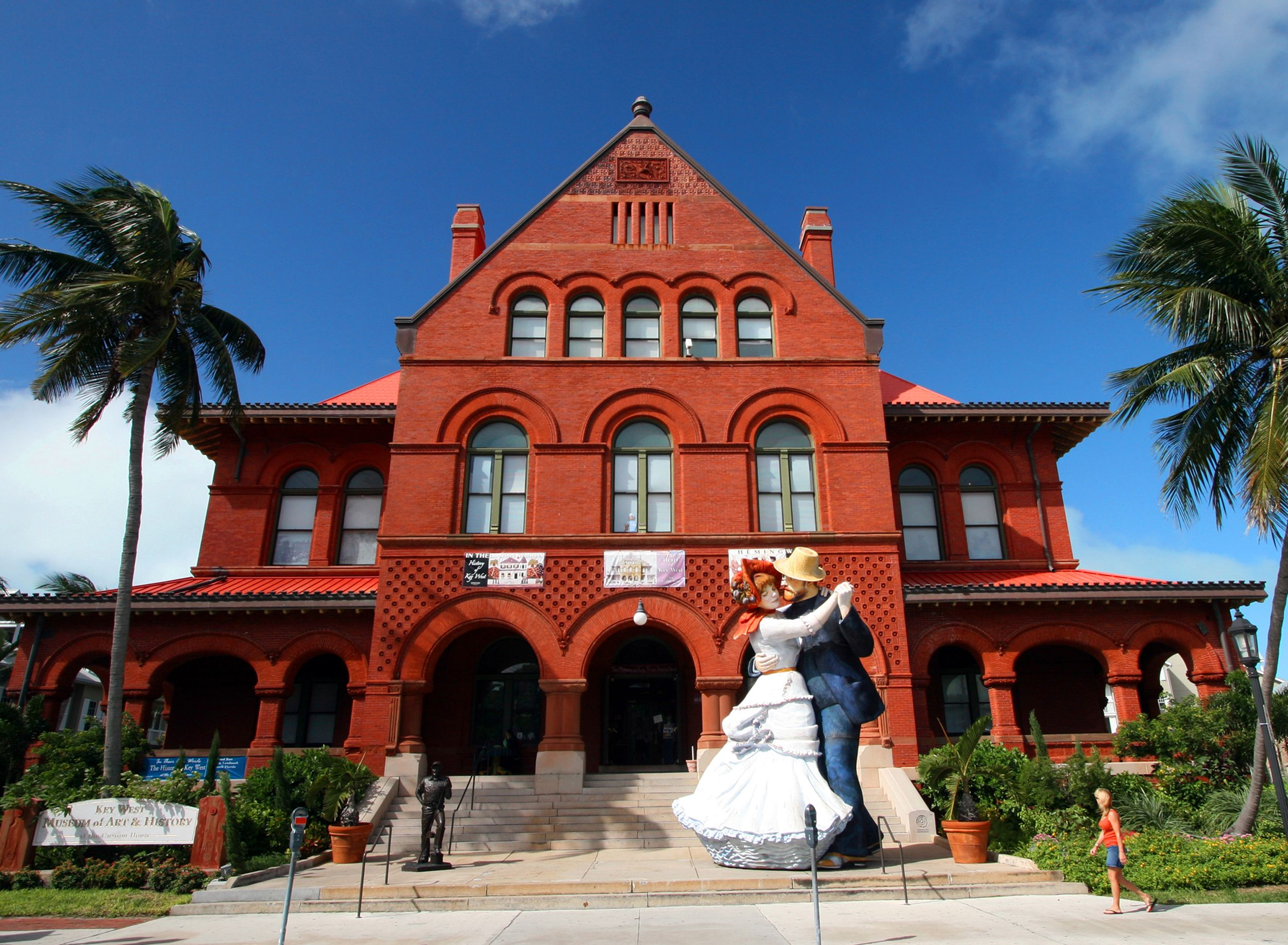 Key West Art Historical Society At The Custom House In Key West Photo By Rob O Neal Key West Photos Key West Unique Destination