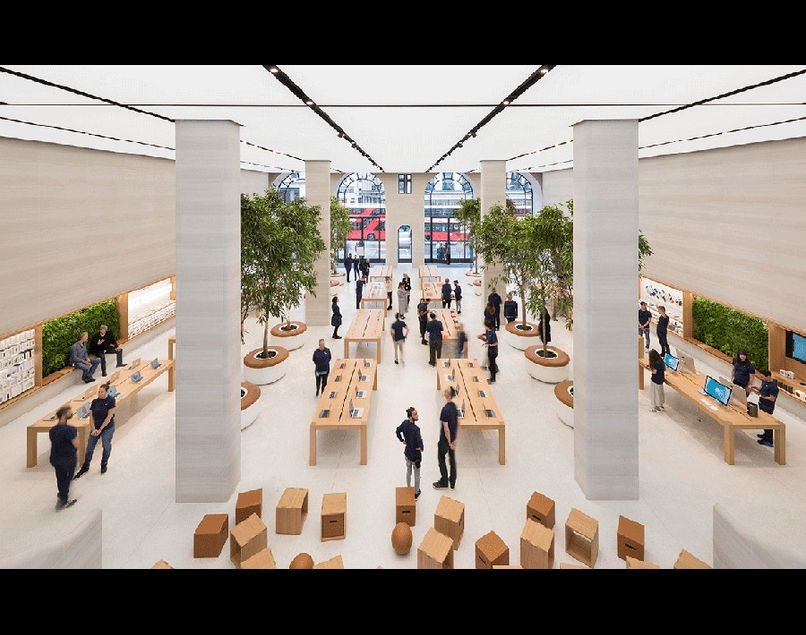New Apple Retail Store In London Retail Store Concept Applestore Retail Architecture Http Www Usine Digita Apple Store Design Apple Shop Architecture