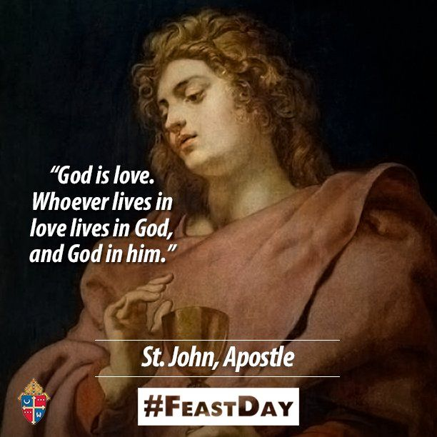 Bible Quotes About St John The Baptist: Happy #FeastDay Of St. John, The Apostle Patron Saint Of