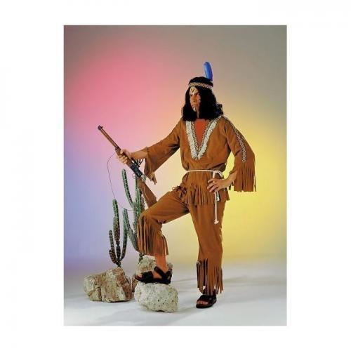 Gr. 48/50 Indianer Anzug Kostüm Fasching Karneval