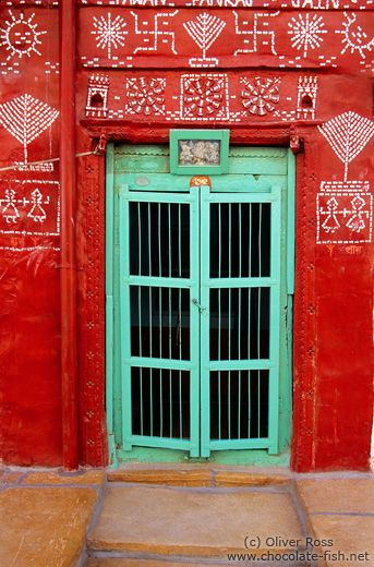 India Rajasthan/Door in Jaisalmer - Travel u0026 Artistic Photography by Oliver Ross - Fine art prints and stock photos & India Rajasthan/Door in Jaisalmer - Travel u0026 Artistic Photography by ...