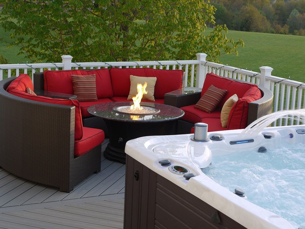 Firepit Hot Tub Patio   Google Search