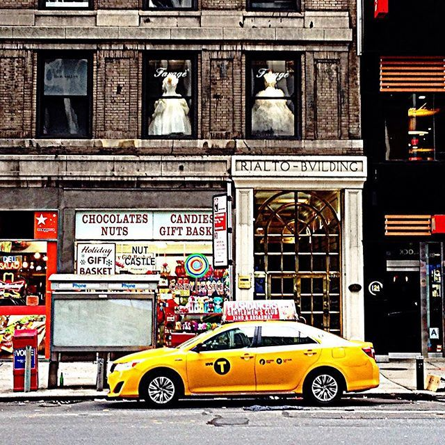 taxi #cap #yellow #yellowcab #nyc #newyork #manhattan #usa #america ...