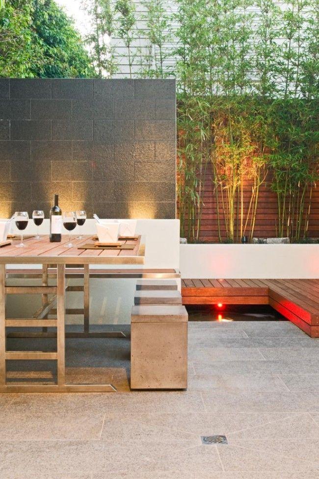 multi award winning courtyard design - Award Winning Patio Designs