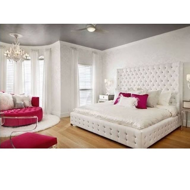 Glam Bedroom Design Photo By Wayfair: Sleep Or Not? So Fancy And Beautiful! Tag Your Friends! ️