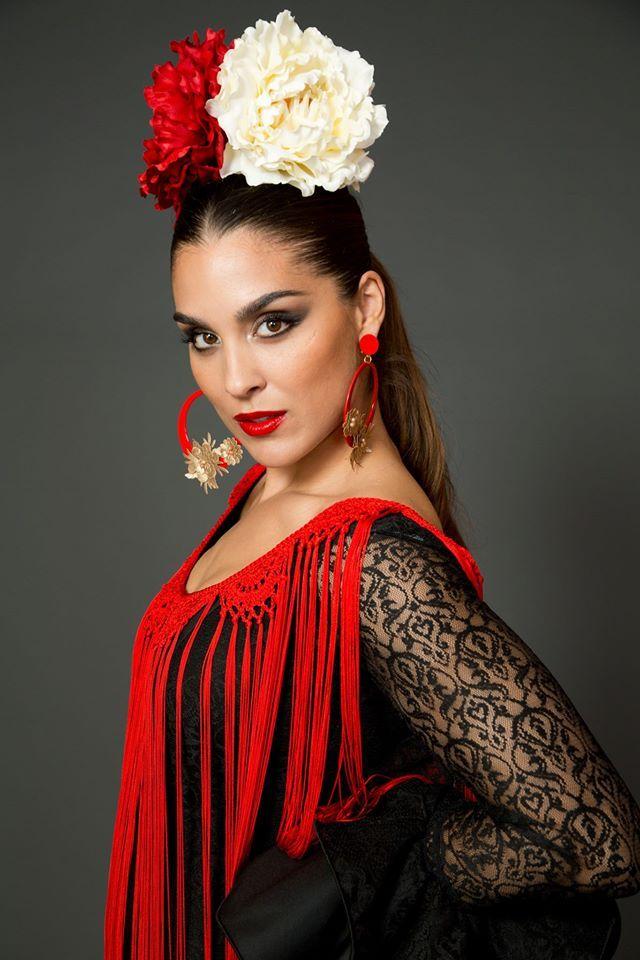 Más notable peinados flamencos Fotos de cortes de pelo tutoriales - Traje de flamenca - Vestido de flamenca -Flamenca dress ...