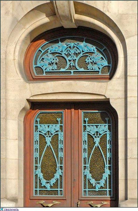 Nancy Louis Majorelle 1859 1926 Ferronnerie De La Porte Secondaire De La Chambre De Commerce Et D In Art Nouveau Architecture Cool Doors Antique Wall Clock