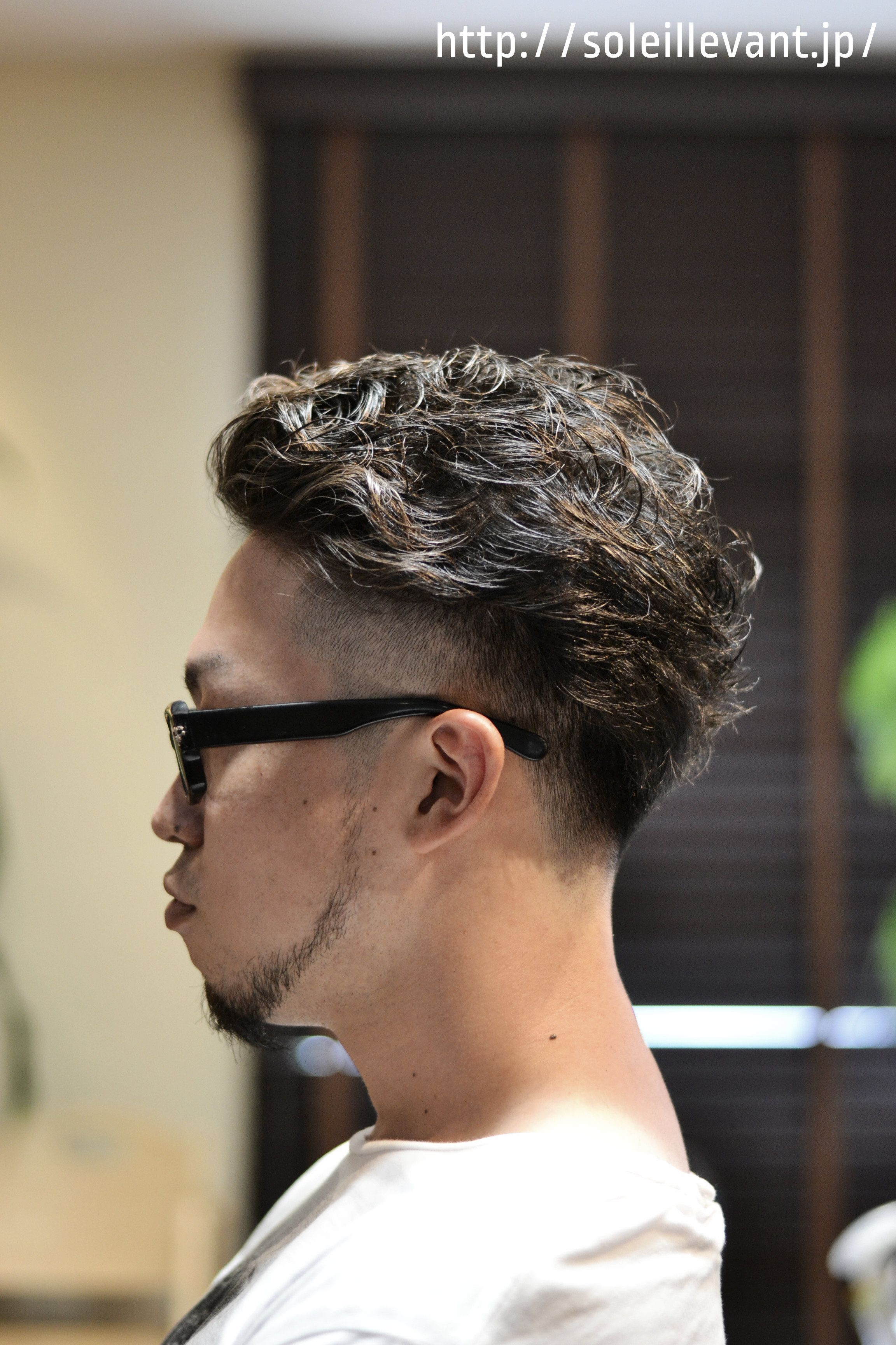 mens perm hair Men s hair Pinterest