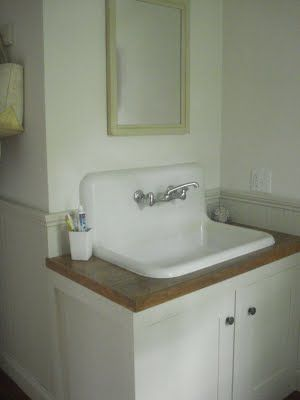 Something To Do: Half Bath/Laundry Room: Before and Afters