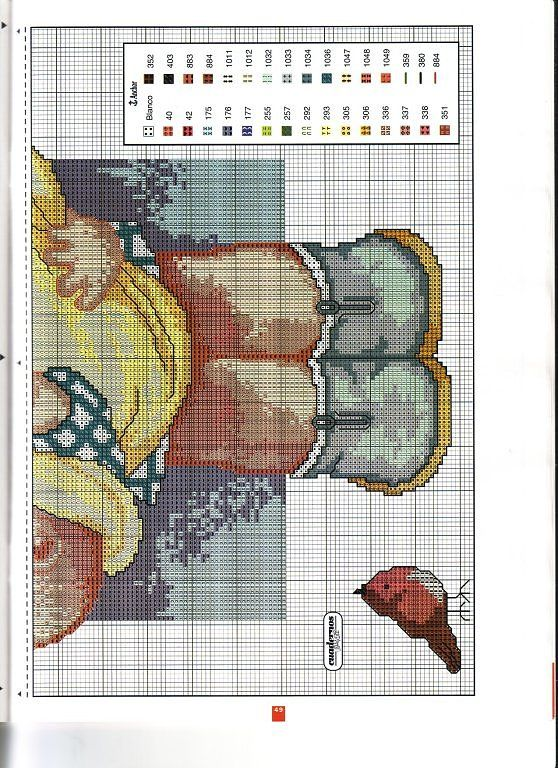 Just Cross Stitch Patterns   Learning Crafts is facilisimo.com