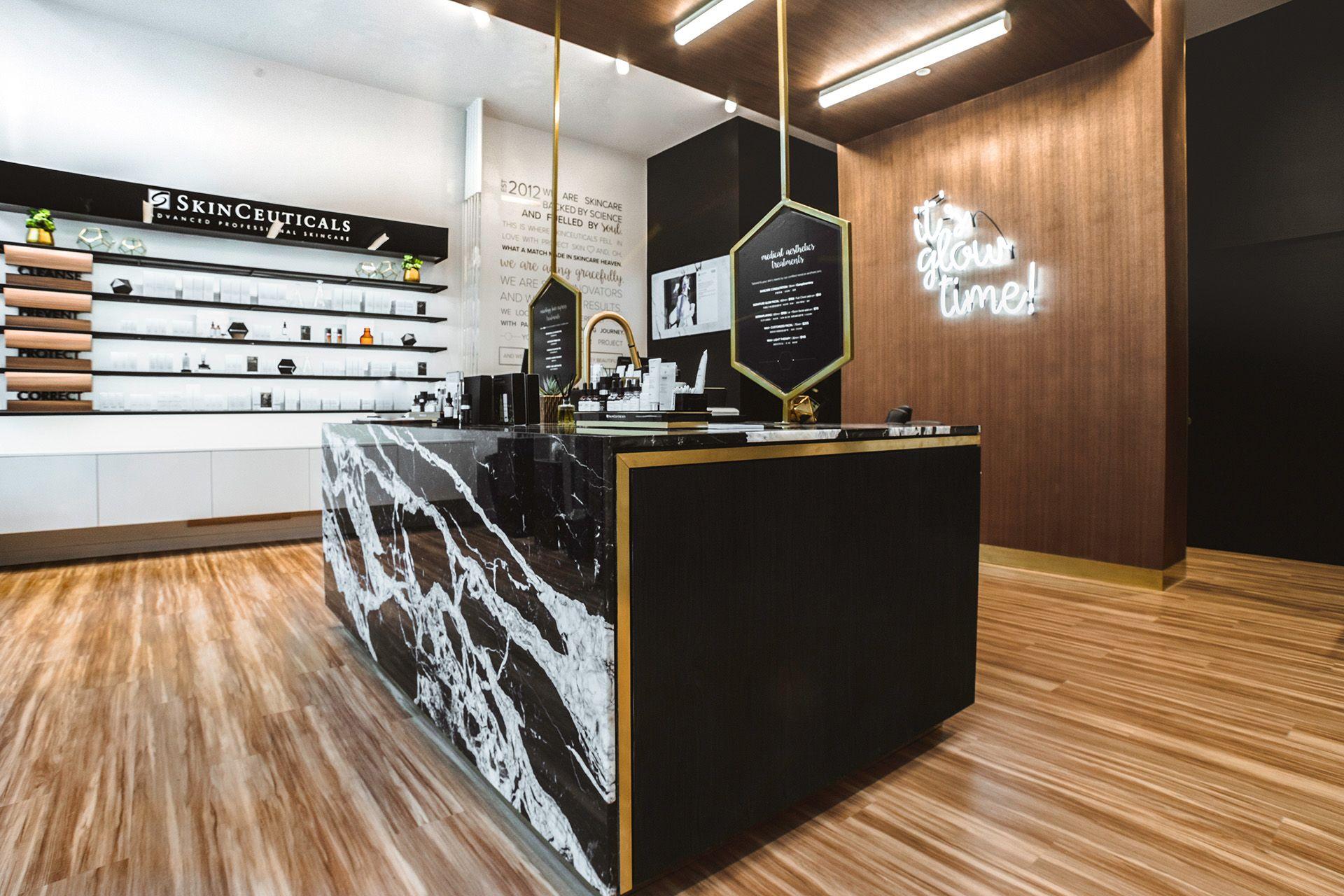 Richmond Bc Shop Skinceuticals By Project Skin Retail Interior