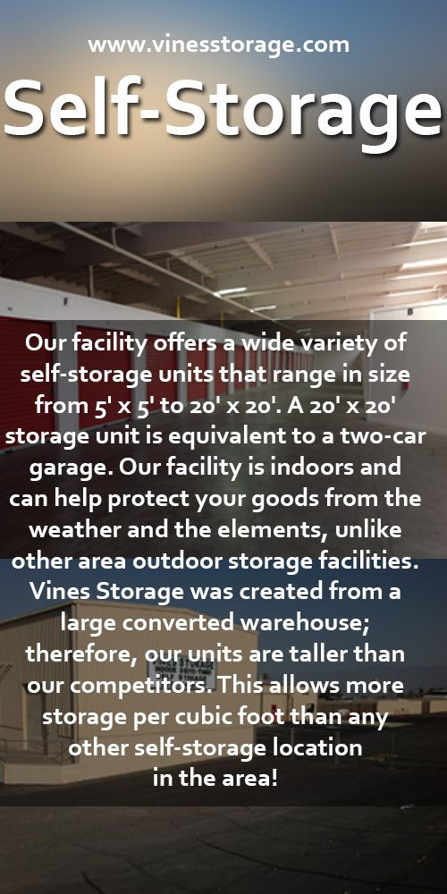 From business storage to personal storage Vines Storage in the Redlands/ Highland area has storage units of every shape and size to accommodate youu2026 & From business storage to personal storage Vines Storage in the ...
