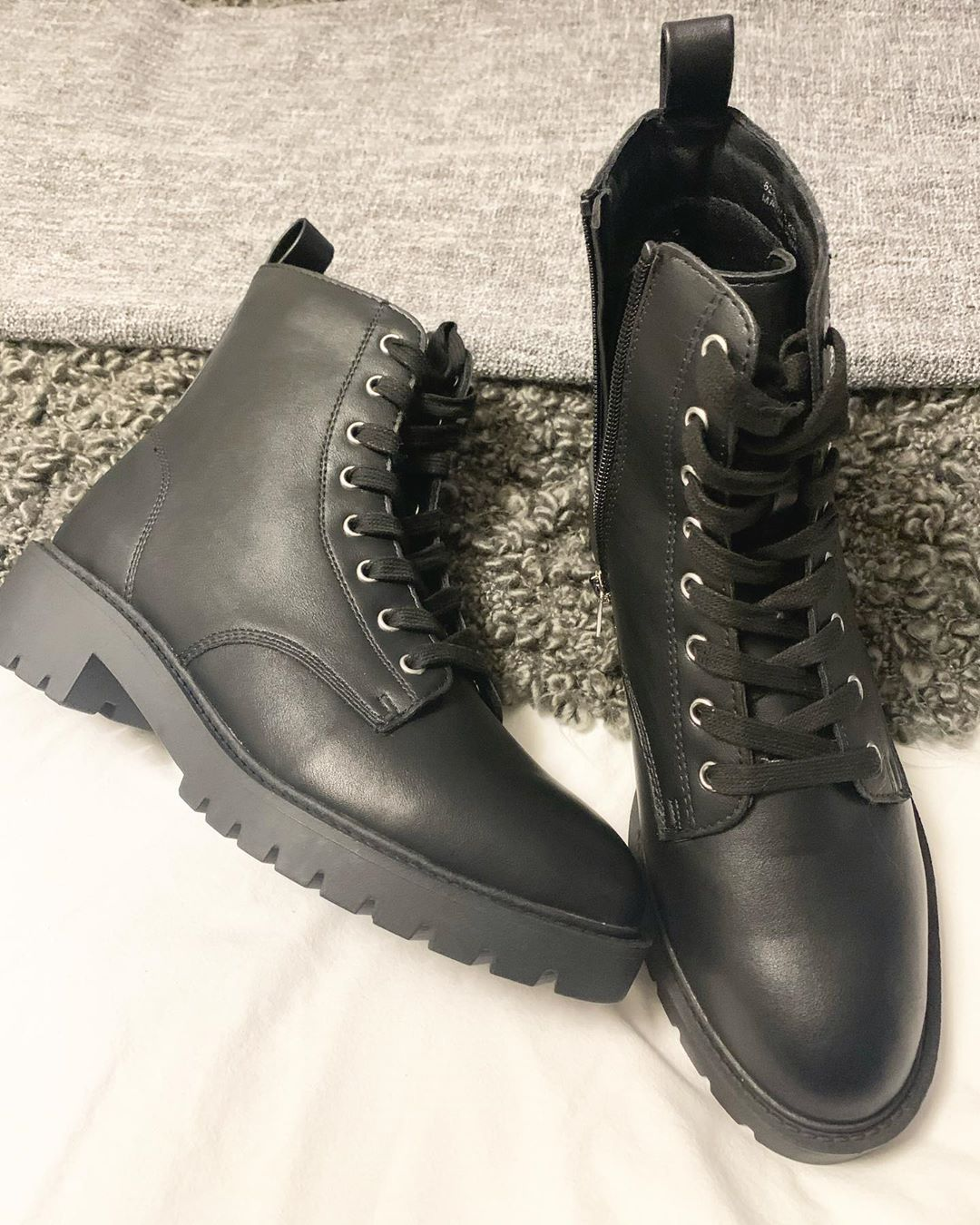 Winter Vegan Boots From Newlook They Even Have A Vegan Sticker On The Sole Veganboots Veganfashion Vega Vegan Shoes Boots Vegan Boots