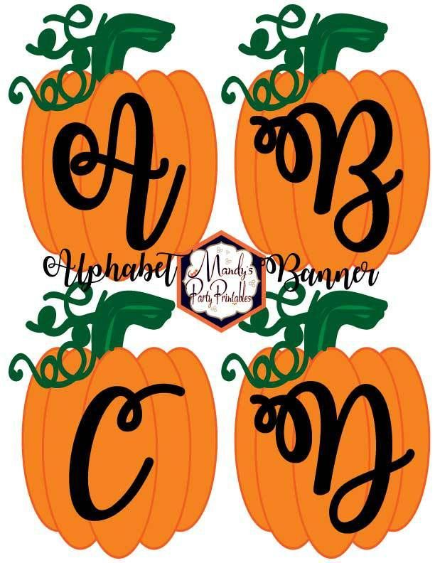 Free Printable Halloween Banner Templates #pumpkinpatchbulletinboard