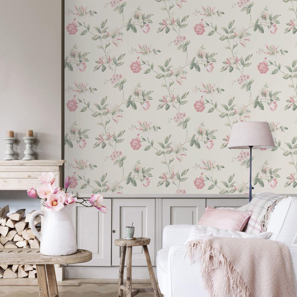 Finest un saln romntico en tonos neutros y rosas leroy merlin leroymerlin with papier peint - Graffiti leroy merlin behang ...
