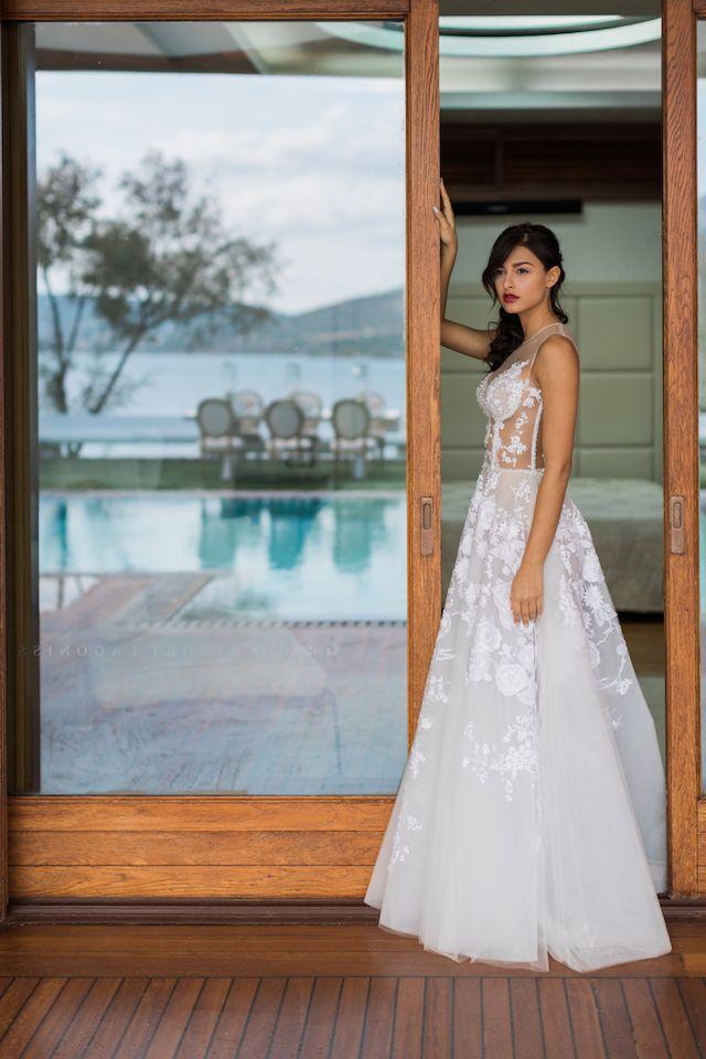Athens, Greece Wedding | Athens greece, Corset wedding dresses and ...