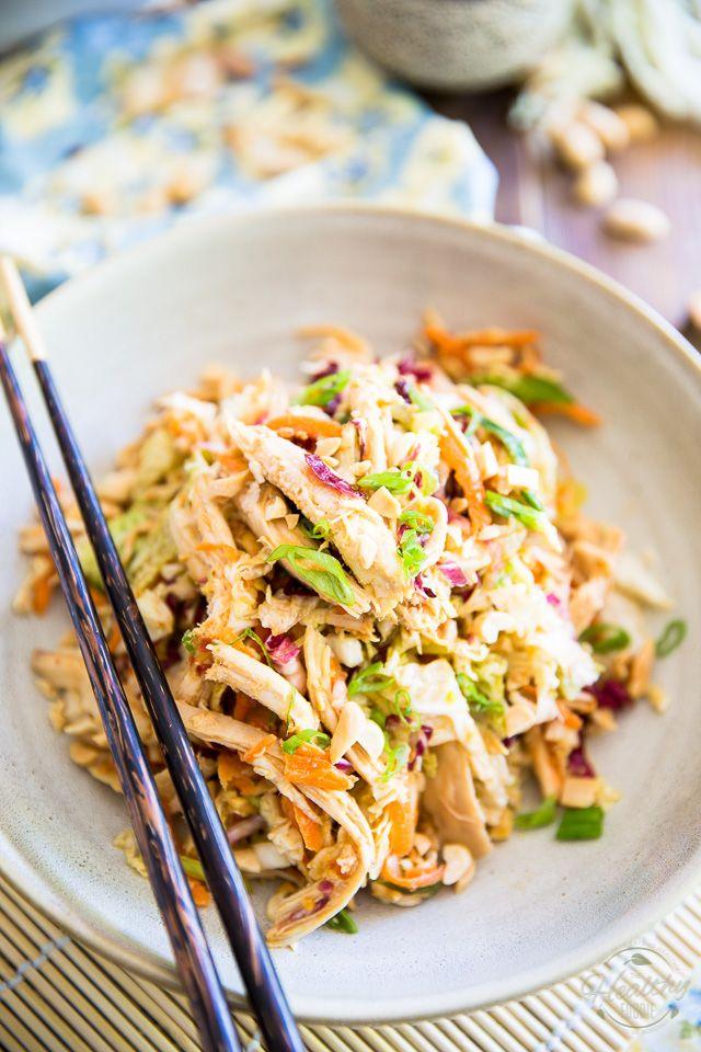 Asian Shredded Chicken Salad