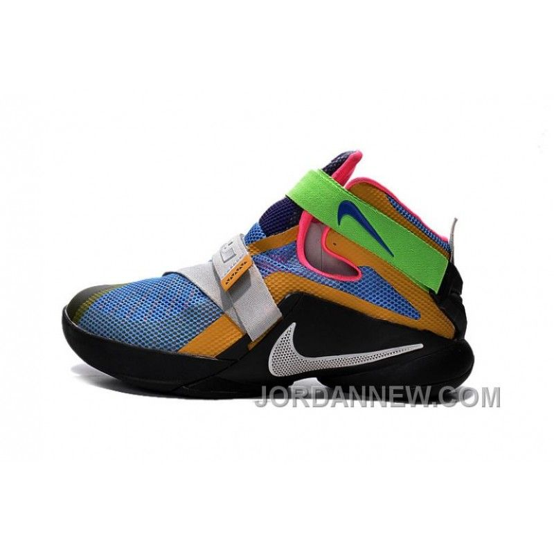 "92831b64c7f Nike LeBron Soldier 9 ""What The LeBron"" Mens Basketball Shoes Top Deals"