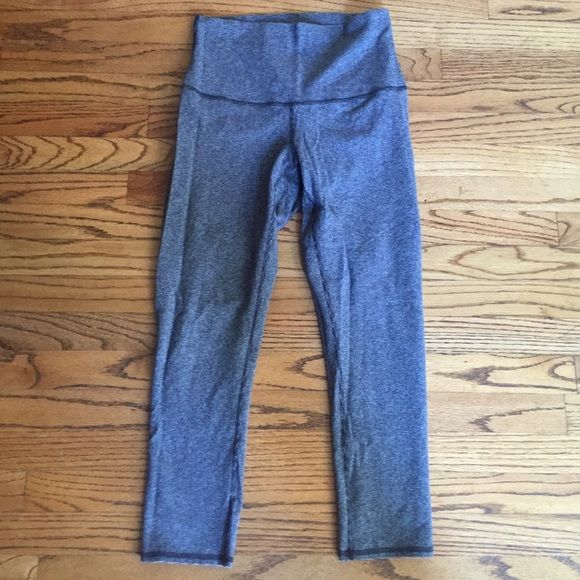 WUC Excellent condition: WUC high waisted// fold over lululemon athletica Pants Leggings
