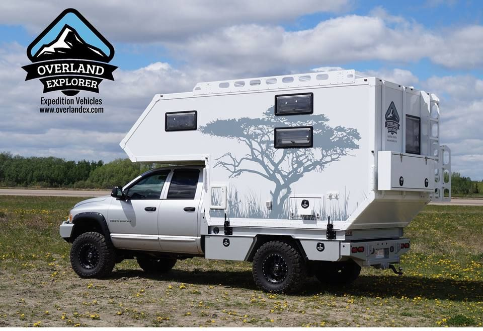 Composite Flatbed Expedition Truck Camper For Sale http://www ...