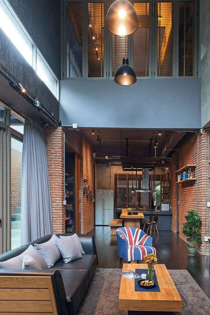 Industrial Living Room: Helpful Ways Of Designing Attractive Industrial Living