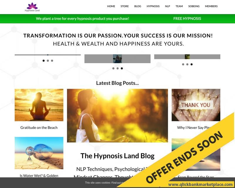 Hypnosis & Transformational Mindset Tools By Master
