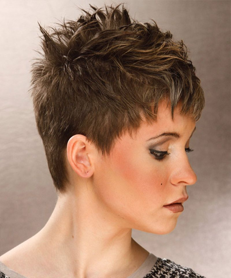 very short spikey hairstyles for women short hairstyles