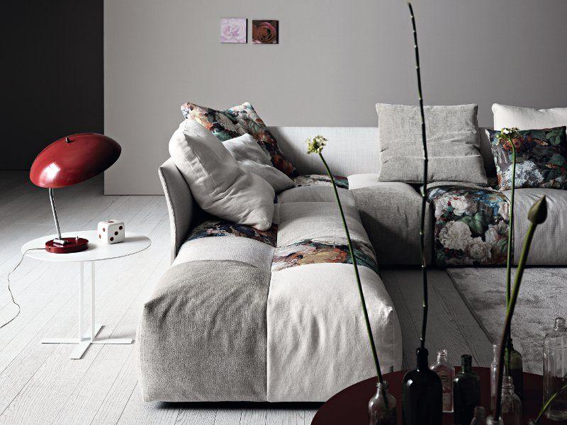 PIXEL Fabric Sofa By Saba Italia Design Sergio Bicego