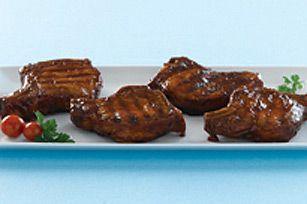 Côtelettes de porc parfaites au barbecue